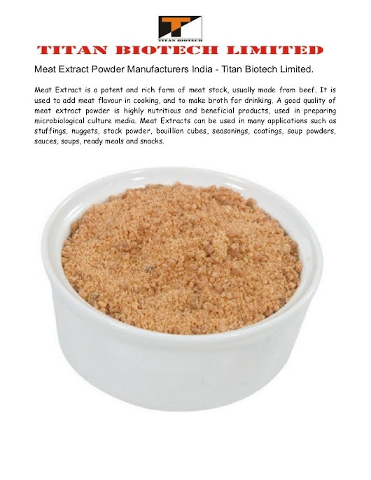 Meat Extract Powder Manufacturers India