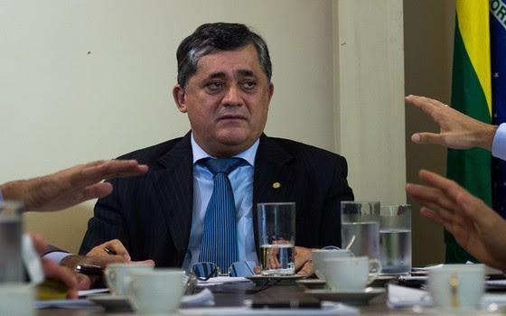 José Guimarães (PT-CE), vice-presidente nacional do partido e líder petista na Câmara (Foto: Marcelo Camargo / Agência Brasil)