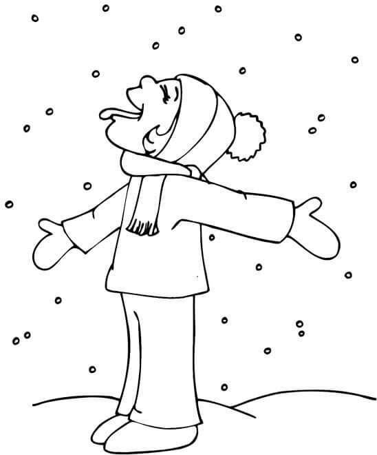 Kar Ve Kış Mevsimi Temalı Boyama Sayfaları Forum Aski Türkiye