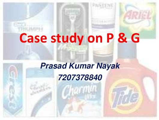 Distribution system of P&G