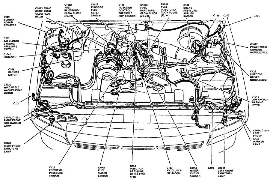 1997 ford f250 7.3l truck wont fire