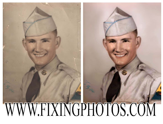 Photo Repair Services, Photo Restoration Online, Damaged Photo Repairs & Retouching