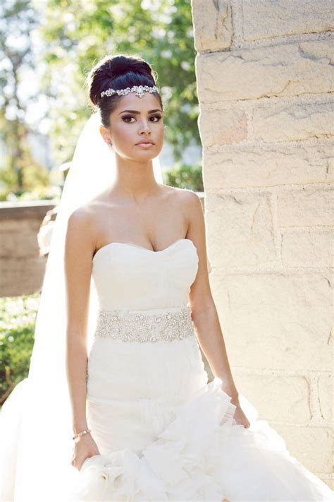 57 Beautiful Wedding Hairstyles With Veil   Wohh Wedding