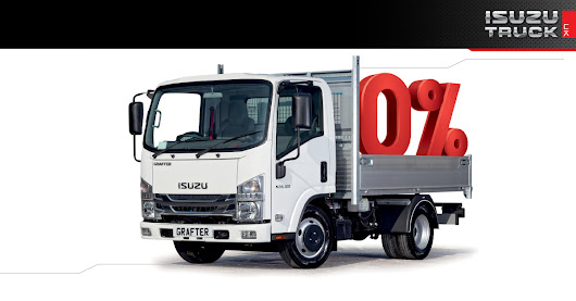 Isuzu Trucks with 0% Finance