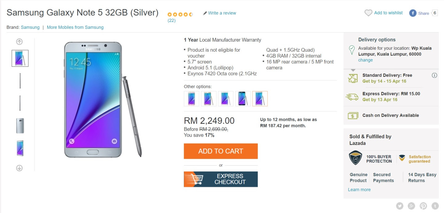 Lazada Begins Rolling Out Same Day Delivery Option For