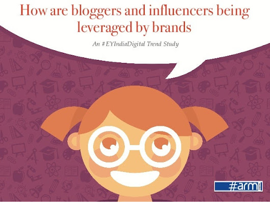 How are bloggers and influencers being leveraged by brands