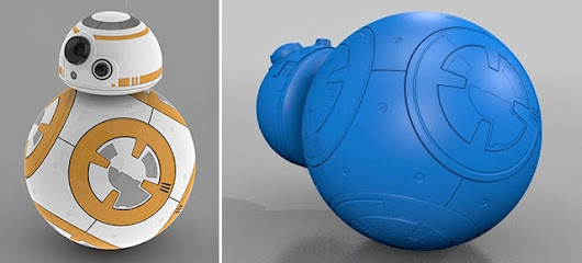 You Can Already 3D Print Yourself a Copy of That Star Wars Ball Droid