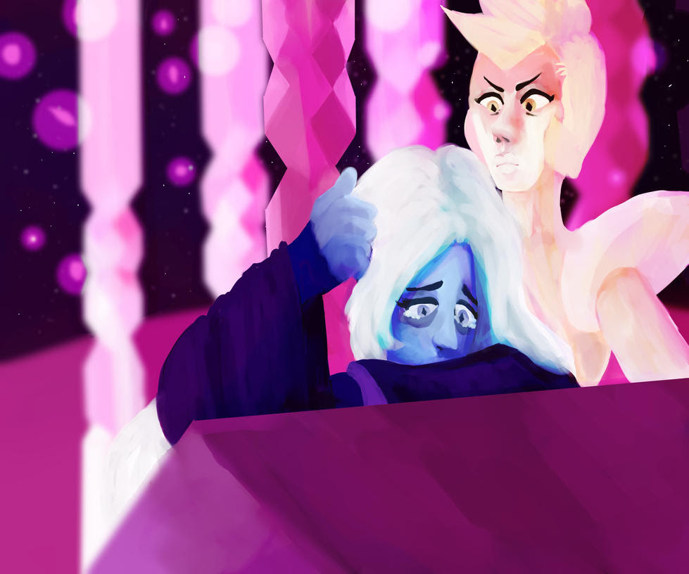 SU SPOILERS, screenshot redraw WARNING EVERYONE NOW THAT THIS IS ALL I WILL DRAW FOR THE NEXT FEW WEEKS MY GOD I LOVE BLUE DIAMOND, BLUE AGATE, SKINNY, AND THE AMETHYSTS DESIGNS TBH PROB GONNA MOST...