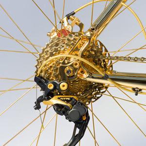 Câmbio de ouro - Bike de ouro