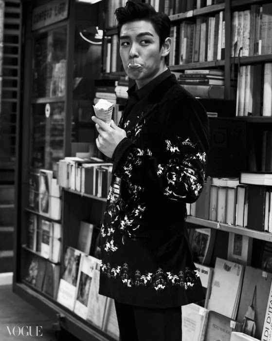 Big Bang TOP - Vogue Magazine November Issue '14