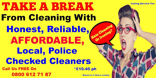 House Cleaning and Ironing Service Covering Gateshead, Whickham, Sunderland, Durham, Consett, Chester le Street, South Shields, Peterlee, Hartlepool and ALL Surrounding - Take a Break | Professional Home Cleaning