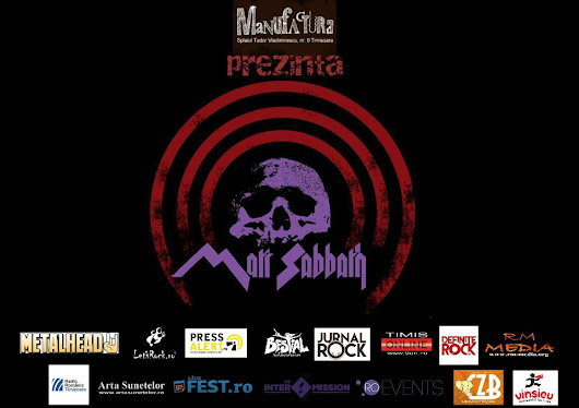 Black Sabbath Tribute with Matt Sabbath LIVE in Timisoara