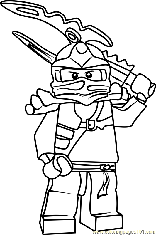 30 Lego Ninjago Jay Coloring Pages - Free Printable Coloring Pages