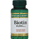 Natures Bounty Ultra-Strength Biotin, 10,000 mcg, Liquid Softgels - 120 count