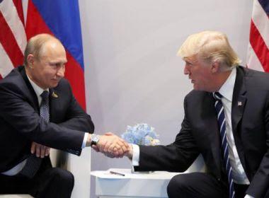 Kremlin diz que Putin agradeceu Trump por ajuda contra atentado