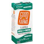 Good Karma Flaxmilk, Unsweetened - 32 fl oz carton