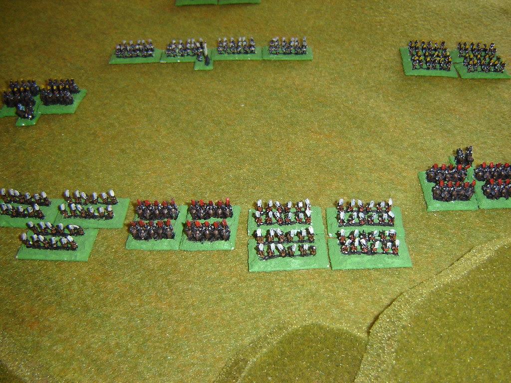 Mori descend to begin decisive clash