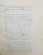 L'incipit della redazione manoscritta