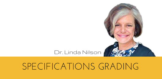 Specifications grading with Linda Nilson