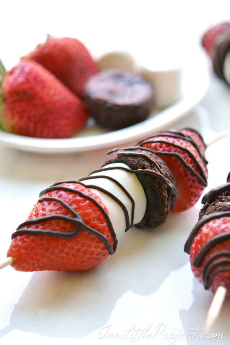 Strawberry Skewers