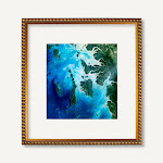 20x30 Gold Leaf with Bead Compo Wood Picture Poster Frame for 30x20 Photo WOM-D6864-20x30 by ArtToFrames