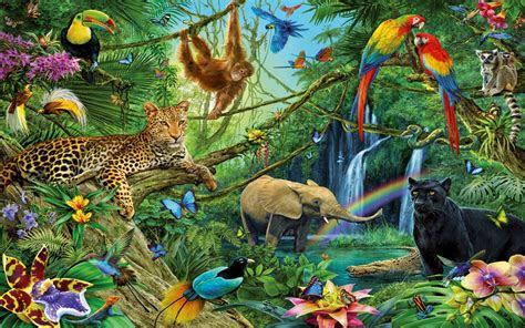 animal kingdom dwellers   jungle desktop backgrounds