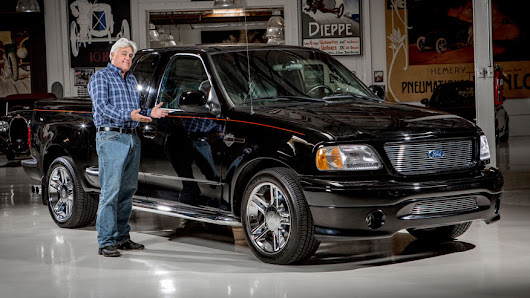 Jay Leno selling his one of a kind Harley-Davidson Ford F-150 for charity