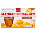 No Sugar Added Mandarin Oranges 4ct - Market Pantry
