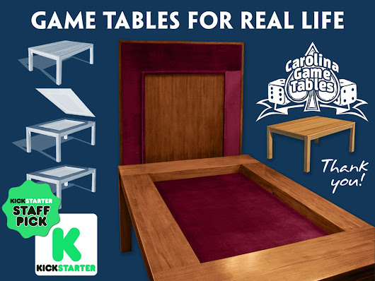 Carolina Game Tables by Jodi and Clint Black — Kickstarter