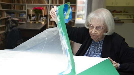 Overlooked But Undeterred, A 101-Year-Old Artist Finally Gets Her Due