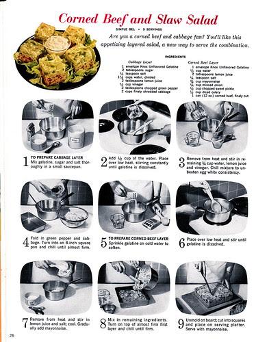 Corned Beef and Slaw Gel Salad