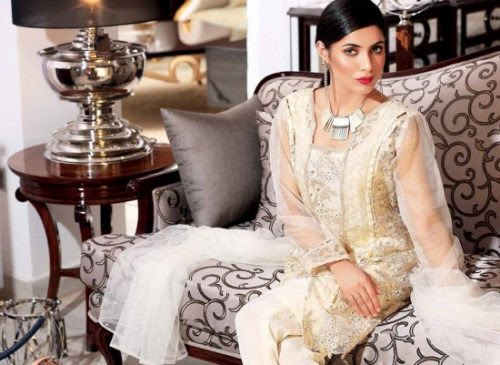 Rabea Luxury Pret Winter Collection Shariq Textiles 2017 - Fashionvilas.com