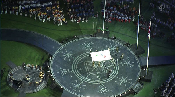 2012 World Olympic Games Paralympics Closing Ceremony wiccan wheel of the year