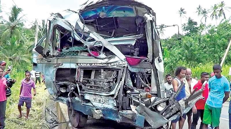 Sixty injured in private bus collision