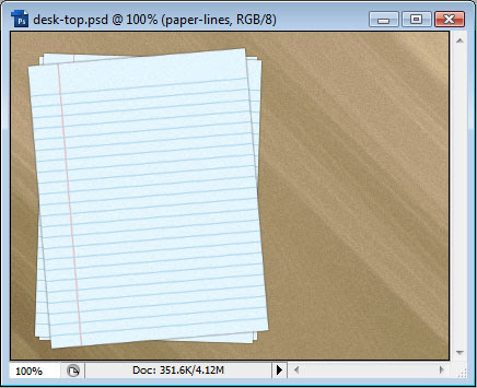 Creating a Desk-Top Composition image 10