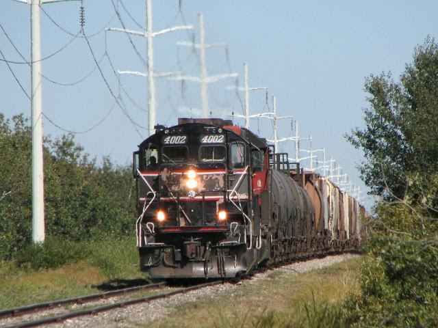 CEMR 4002 by the power lines