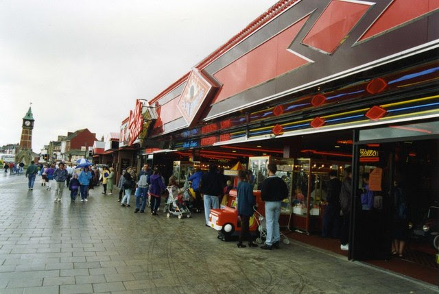 Skegness Seafront In 1993 David Gearing Cc By Sa 2 0