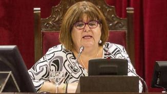 Xelo Huertas presidint el Parlament Balear (EFE)t aquest matí el Parlament Balear (EFE)