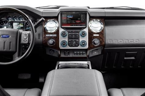 ford bronco price  interior product reviews net