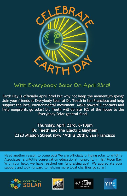 Celebrate Earth Day with Everybody Solar
