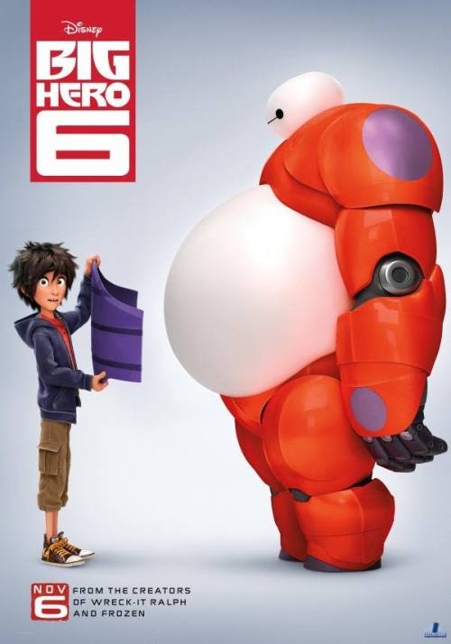 BIG HERO 6 poster - click to see more