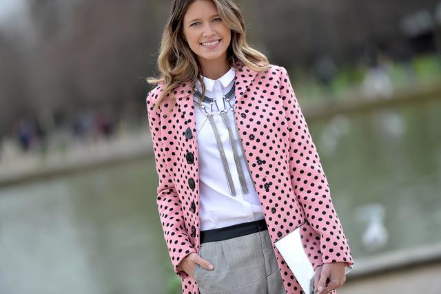 Неделя моды в Париже A/W 2014: street style. Часть III (фото 19)