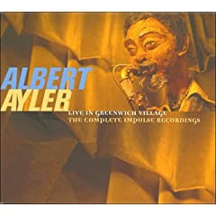 Albert Ayler Live In Greenwich Village  cover