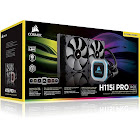Corsair Hydro Series, H115i Pro RGB, 280mm Radiator, Dual 140mm ml Series PWM Fans, Advanced RGB Lighting and Fan Control with Software, Liquid CPU