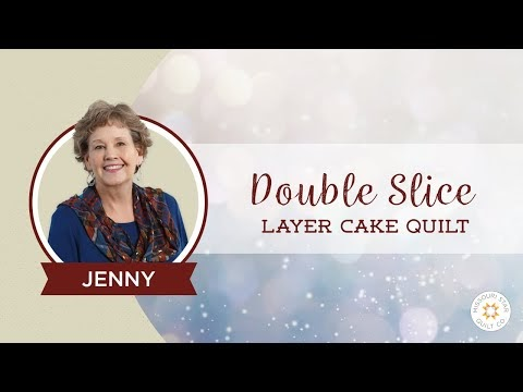 Freebies For Crafters Double Slice Layer Cake Quilt Tutorial
