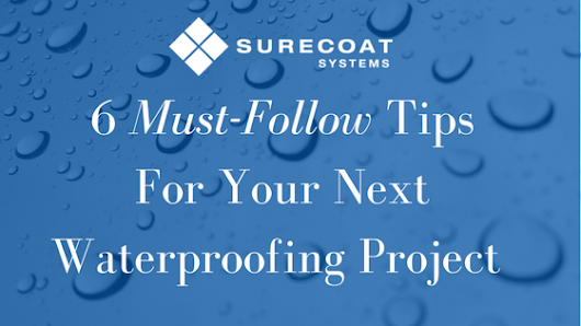 What No One Tells You About Waterproofing • Surecoat Systems