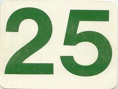 calendrier  25