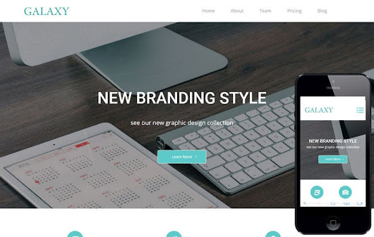 Galaxy a Corporate Multipurpose Flat Bootstrap Responsive Web Template by w3layouts