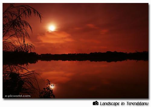 night shot at Teluk Pasu picture