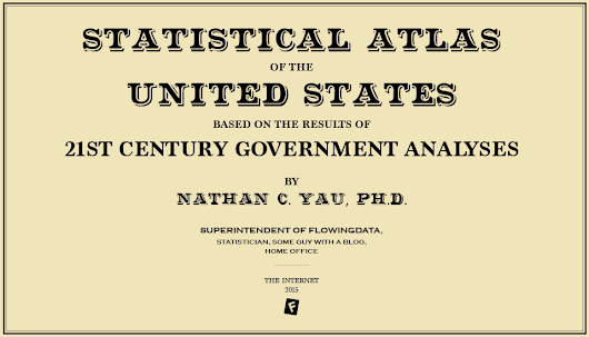 Reviving the Statistical Atlas of the United States with New Data